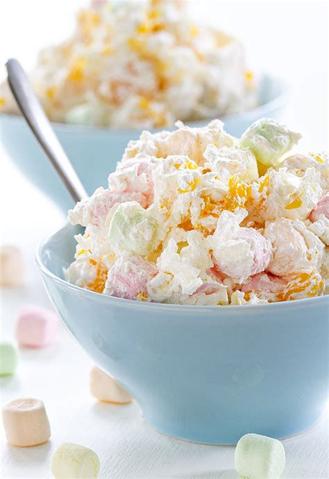 hawaiian marshmallow salad campfire