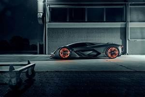 Lamborghini Terzo Millennio 2019 Side View, HD Cars, 4k