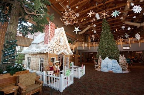 magical winter wonderland  great wolf lodge  december