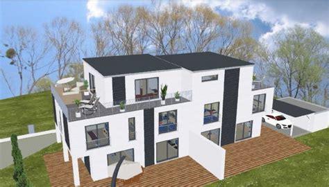 fertighaus mit grundstück kaufen wolf haus incl grundst 252 ck doppelhaush 228 lfte dhh in kahl am aschaffenburg haus