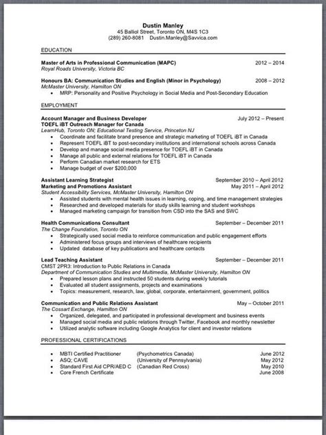 How Do A Resume Looks Like by What Does A Cv Or Resum 233 Look Like With Image Tweets 183 Qui Oui 183 Storify