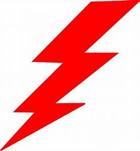 Lightning-red Clip Art at Clker.com - vector clip art ...