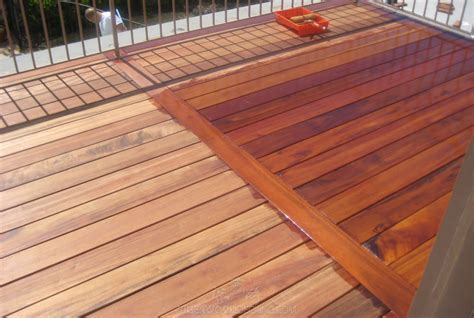 Tigerwood Decking Pictures   Tiger wood Deck Photos