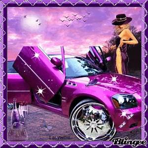Purple Pimped Car!!! Picture #128263030 | Blingee.com