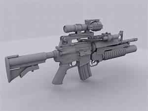 M4a1 Assault Rifle by lhnova on DeviantArt
