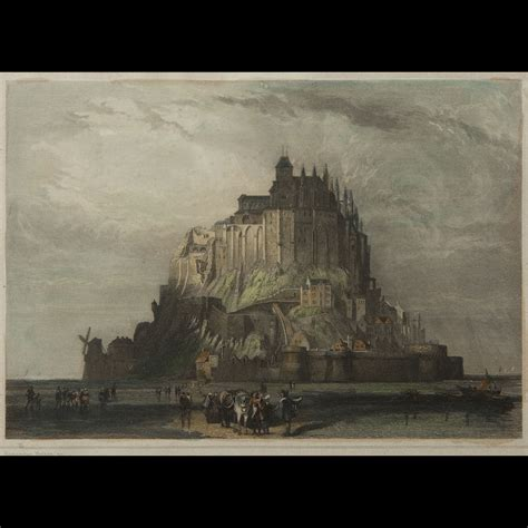 malo mont michel tours four prints 19th century expertissim