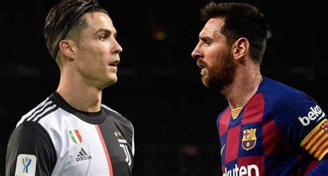 Lionel Messi vs. Cristiano Ronaldo en la Champions League ...