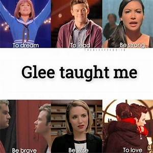 17 Best ideas a... Glee Rumors Quotes