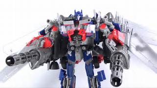 Transformers 3 Dark of the Moon  Takara Tomy DA15 Jetwing Optimus  Transformers 3 Optimus Prime Jetpack