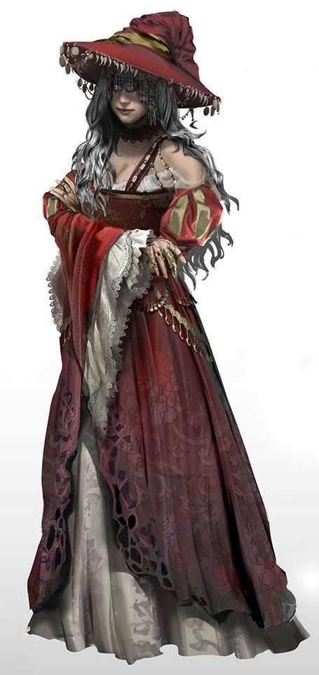 character fantasy female dnd characters wizards warlocks wizard witch concept witches dragons imgur inspirational dungeons lore gentle go feng drawings
