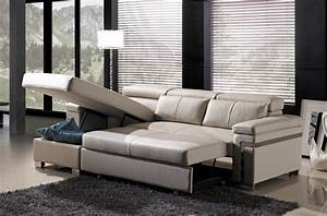 canape d39angle convertible en cuir buffle italien 5 With canape buffle cuir