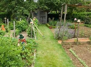comment amenager des allees au potager With allee de jardin potager
