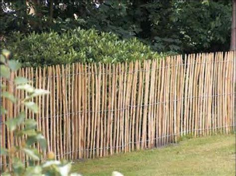 Barriere De Jardin Bois Piquet Grillage