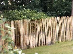 Rouleau De Grillage Pas Cher : barriere de jardin bois piquet grillage exoteck ~ Edinachiropracticcenter.com Idées de Décoration