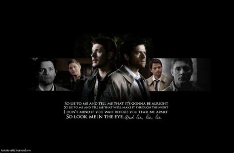 Supernatural Anime Wallpaper - destiel wallpapers wallpaper cave