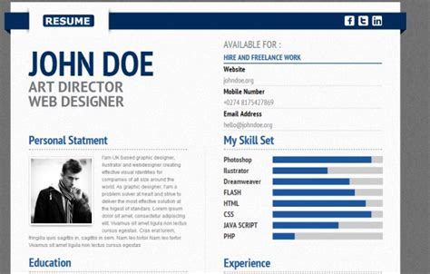 22 awesome resume themes