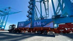 Apm Terminals U2019 Mo U00edn Container Terminal Reaches 1 Million