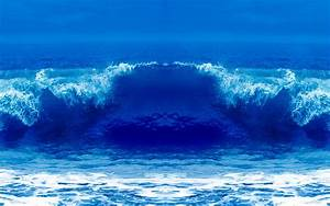 Blue Ocean Waves - Bing images