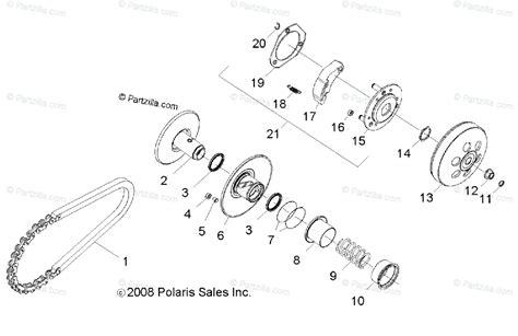 Polaris Side Oem Parts Diagram For Drive