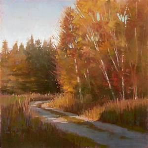 Landscape Painting: Paint Fall Colors with Pastel