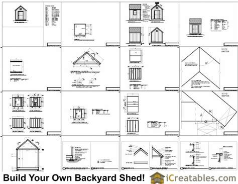 8x8 Storage Shed Material List by 8x8 Cape Cod Garden Shed Plans Storage Shed Plans