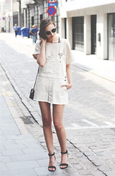 How To Wear Denim Overalls In Spring/Summer 2014 - Just The Design