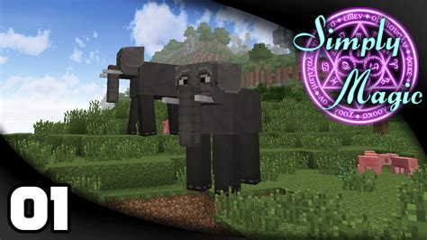 simply magic ep  learning   magic simply magic minecraft modpack youtube