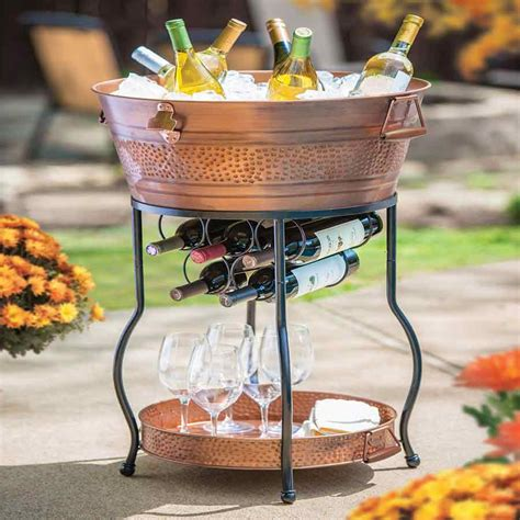 wine tub  stand  tray