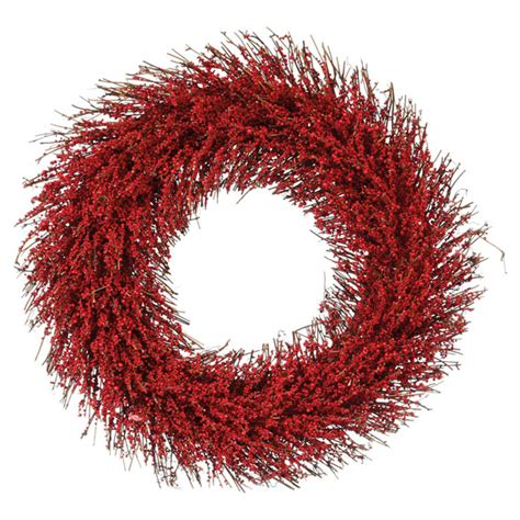 faux berry wreath oka