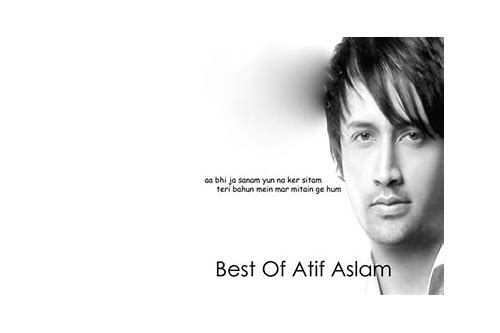 best of atif aslam mp3 free download