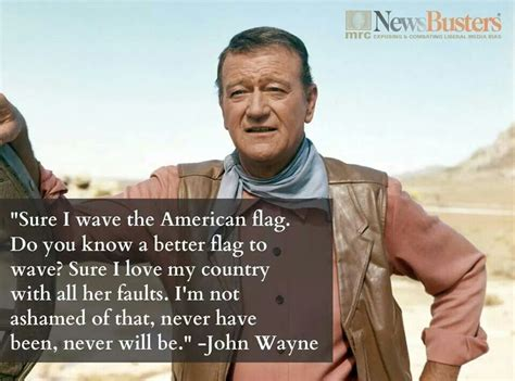 wayne john wish western film actors had american hollywood late newsbusters flag point quotes uploaded