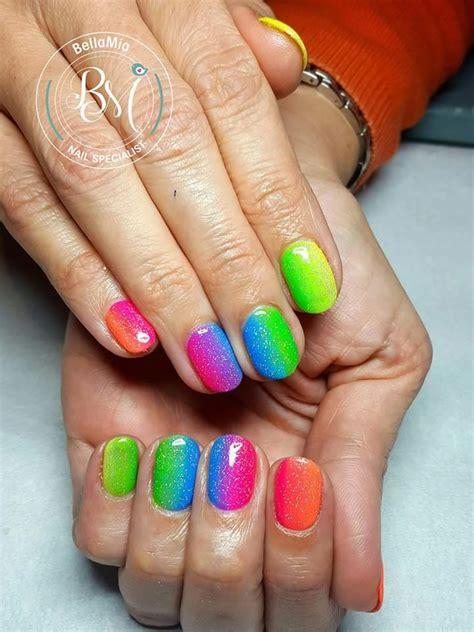 easy summer nail art      home