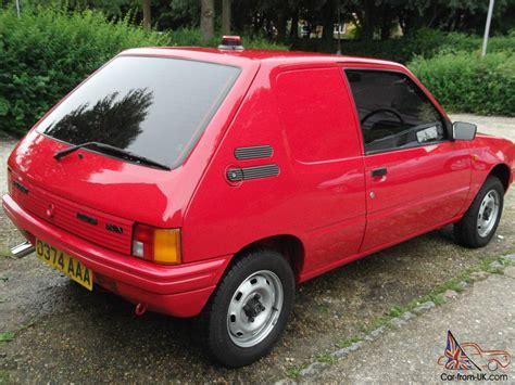 classic peugeot classic 1986 peugeot 205 xa van 41 000mls extremley good