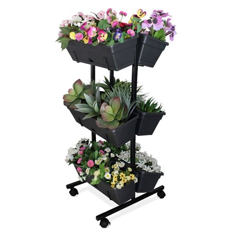 whites vertical garden  mobile grow bunnings warehouse