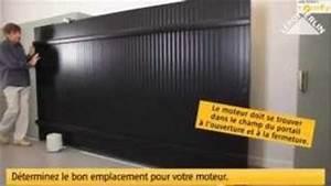 Motorisation Somfy Portail Coulissant : motorisation de portail coulissant somfy freevi ~ Edinachiropracticcenter.com Idées de Décoration