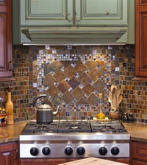 unique backsplashes for kitchen 7 beautiful tile kitchen backsplash ideas of the home 6642