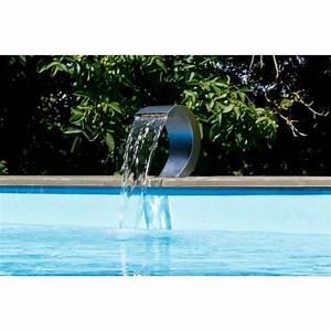Piscine Inox Prix : cascade piscine en inox led achat vente cascade piscine en inox led pas cher cdiscount ~ Carolinahurricanesstore.com Idées de Décoration