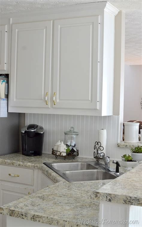 How To Install A Diy Beadboard Backsplash (kitchen Makeover
