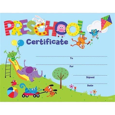 preschool diploma template preschool certificate awards ctp1398 creative teaching press incentives motivators