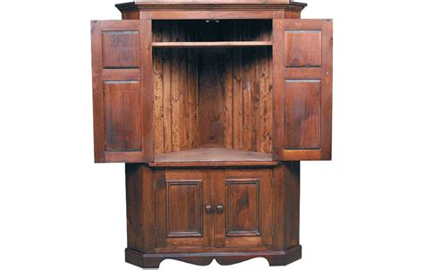 Armoire For Tv With Doors by Country Corner Tv Armoire Country Living