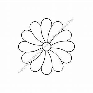 Blumen Basteln Vorlage : schablone blume 4 5 st12 ~ Frokenaadalensverden.com Haus und Dekorationen