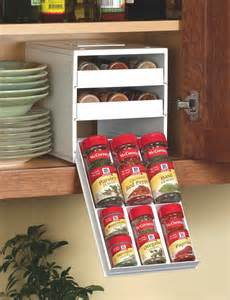 Under Cabinet Spice Rack That Pull Down by New Spicestack Spice Rack Helps Not So Organized Cooks