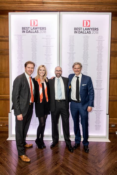 Photo Recap: Best Lawyers in Dallas 2018 - D Magazine