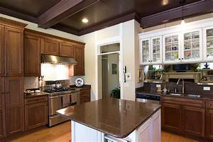 63 beautiful traditional kitchen designs designing idea With what kind of paint to use on kitchen cabinets for walnut wall art