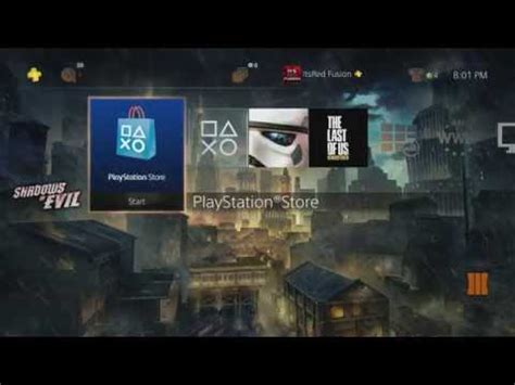 how to download the free quot shadows of evil quot ps4 theme call of duty black ops 3 quot morg city theme