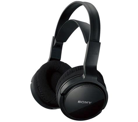buy sony mdr rf811rk wireless headphones black free delivery currys