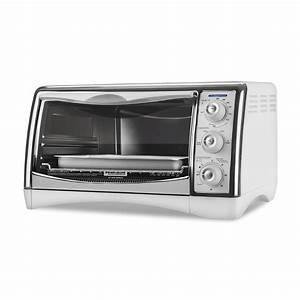 BLACK+DECKER 97077731M Perfect Broil Countertop Oven- White