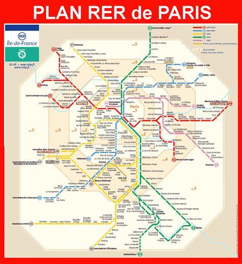 La Carte De Metro Rer by Carte Rer Carte 2018