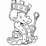 King Coloring Pages sketch template