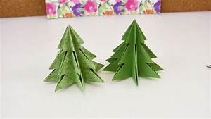 Tannenbaum Falten Anleitung : origami f r weihnachten diy tannenbaum selber machen ~ Lizthompson.info Haus und Dekorationen